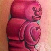 Jelly-baby-by-Sharron-Caudill,-Northern-Soul-Tattoo
