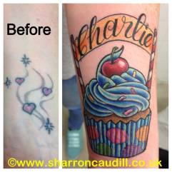 charlie cover up