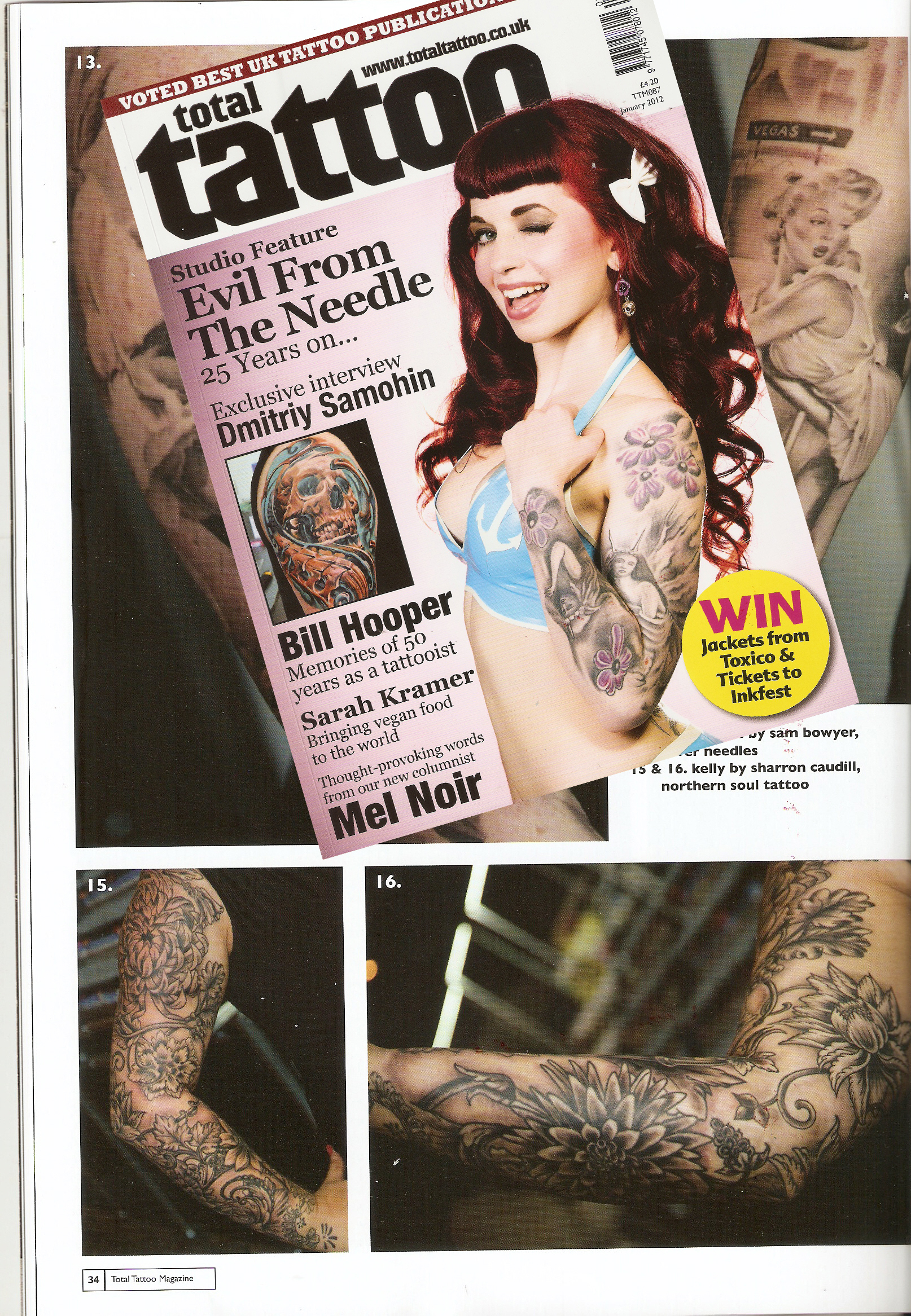 Total Tattoo Magazine and